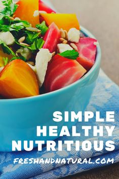 Then check out Fresh & Natural today for amazing ideas- tips and tricks... to eat healthy each and every day...  #nutritiousfood #healthyeating #healthfood #organicfood #nutrition #healthyeats #foodforyourbody #healthymindhealthybody #healthydiet #greenliving