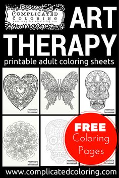 Free Printable Coloring by @complicolor #Coloring #Arttherapy #Printable