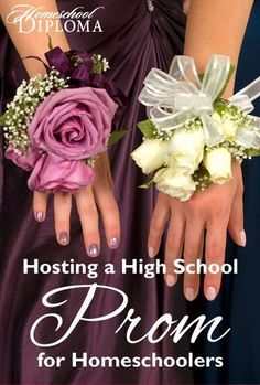 Homeschooled teens don't have to miss out on high school traditions just because they are educated at home. Even the high school prom can be recreated with a homeschool flair so your teens can participate in their own version of this once-in-a-lifetime dance.