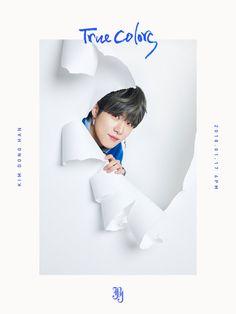 'True Colors' Kim Donghan Thomas Mcdonell, Kim Sang, Hyun Bin, Vixx, K Idols, True Colors, Memes, Mini Albums, Album Covers