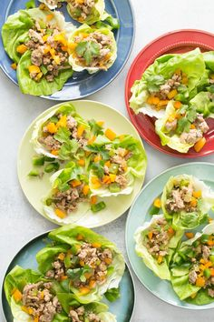 Salad may be a tough sell for some little ones, but these Stir-Fried Lettuce Cups are kid friendly and a whole new way for them of looking at leafy greens.