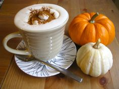 A Pumpkin Spice Latte Recipe >> http://www.hgtvgardens.com/recipes/diy-pumpkin-latte?soc=pinterest