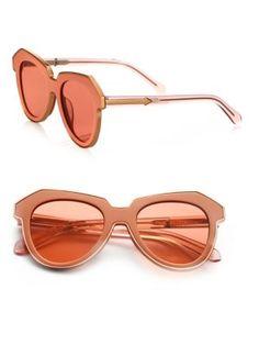 Karen Walker - One Astronaut 51MM Cat's-Eye Sunglasses $315.00