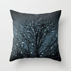 December Throw Pillow by The Dreamery - $20.00