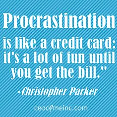You know it's bad when you are procrastinating by pinning things about procrastination.