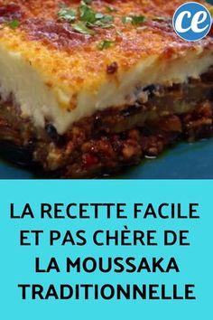 La+Recette+Facile+et+Pas+Chère+de+La+Moussaka+Traditionnelle.
