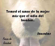Frases filosoficas de amor de Sócrates