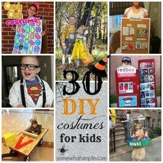 30 DIY Halloween Costumes - Somewhat Simple