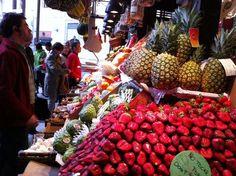 Destination: Madrid, Drinks and Tapas!Cañas y tapas! Bazaars, Flower Market, World Market, United Nations, Farmers Market, Street Food, Tapas, Harvest, Destinations