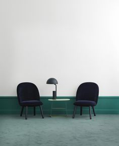Normann Copenhagen is the latest brand to release flat-pack furniture, working with Danish designer Hans Horneman on a range of self-assembly lounge chairs Modern House Design, Contemporary Furniture, Furniture Design, Home Decor, Lounge Chairs, Geometric Shapes, Circles, Norman Copenhagen, Interior Concept