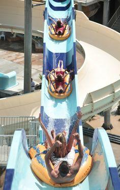 Polin Waterparks waterslide at Aqua Fantasy Summer Fun, Summer Time, Flying Boat, Heart For Kids, Water Slides, Aqua, Turkey, Fantasy, Water Parks