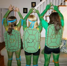 ninja turtles Massie this is pretty awesome. Cute Costumes, Group Costumes, Halloween Costumes, Halloween Boo, Holidays Halloween, Happy Halloween, Kappa Delta, Sigma Chi, Sorority Costumes