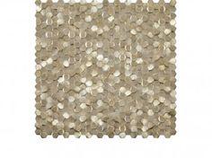 Gravity Aluminium 3D Hexagon Gold, Mosaicos de la colección Gravity Mosaics