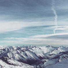 Berge und Grießnockerlsuppe