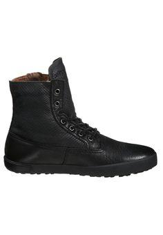 Blackstone Sneakers hoog - black - Zalando.nl