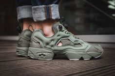 00090f1b517 Reebok Instapump Fury Hunter Green Instapump Fury