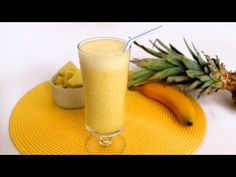 Pineapple Banana Smoothie Recipe – Laura Vitale – Laura In The Kitchen Episode 566
