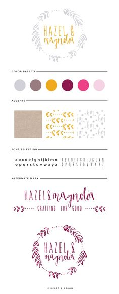 Hazel & Magnolia Brand Board