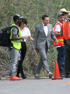 Pee-wee Herman Shoots New Film in California (PHOTO) bowtie is the new black!