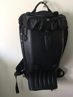 Boblbee Motorcycle  Bicycle Rubberized  Hardshell Backpack Matte Black #Boblbee #Backpack