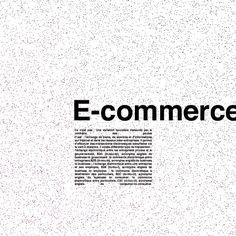 E-commerce Ce n'est pas : Une variation boursière instaurée par la confrérie des poules C'est : l'échange de biens, de services et d'informations sur internet et dans les réseaux inter-entreprises. Il permet d'effectuer des transactions électroniques sécurisées via la vente à distance.  #themot #graphic #design