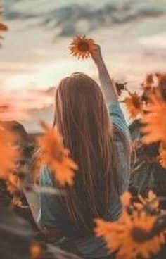 Sunflower Photography, Autumn Photography, Tumblr Photography, Creative Photography, Profile Picture For Girls, Profile Photo, Cute Girl Wallpaper, Wallpaper Doodle, Portrait Photography Poses