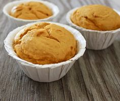 two-ingredient pumpkin cupcakes (Two Ingredients Cake)