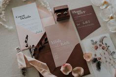 Bohemian Wedding Stationery, Boho Wedding, Tri Fold Wedding Invitations, Second Weddings, Wedding Inspiration, Wedding Ideas, Pretty In Pink, Wedding Cards, Wedding Styles