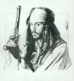 Capt. Jack Sparrow - Pirates of the Caribbean - Trevor Grove