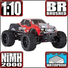 VOLCANO EPX 1/10 SCALE ELECTRIC MONSTER TRUCK - OMGRC online Hobby shop