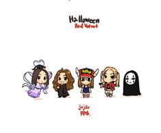 Red velvet @halloween day 2015 fanart