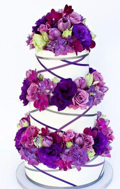 Wedding cake idea; Featured Cake: Sweet on Cake