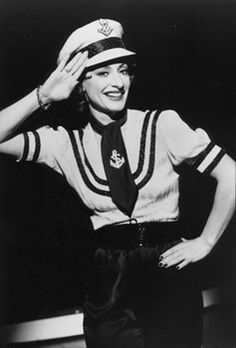 Patti LuPone as Reno Sweeney in Anything Goes (1987)