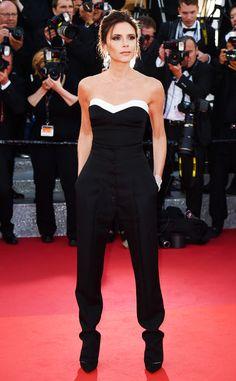 Victoria Beckham de Cannes 2016 : les stars les mieux habillées  Une coupe impeccable, un style raffiné et original. On est heureux de retrouver VB à Cannes.
