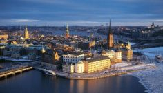 Stockholm, Sweden - my birthplace as well as where some of my family still lives!