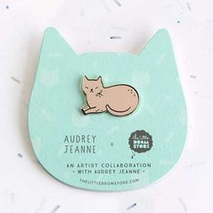 Image of Audrey Jeanne – Pink Cat *NEW*