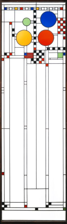 """Frank Lloyd Wright: Stained-glass window (67.231.1)"". In Heilbrunn Timeline of Art History. New York: The Metropolitan Museum of Art, 2000–. http://www.metmuseum.org/toah/works-of-art/67.231.1 (October 2006)"