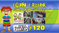 Celinho e Ricardo, filhos, primeiros celulares e muito mais - Programa Z...