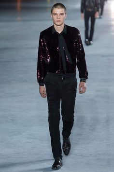 Saint Laurent Spring/Summer 2018 - Fucking Young!