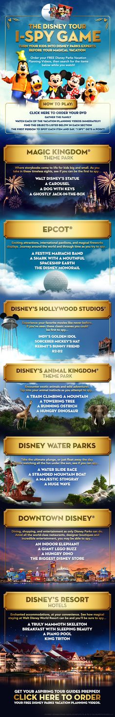 Turn your kids into Disney Parks experts before your vacation! #WaltDisneyWorld gretchen@destinationsinflorida.com
