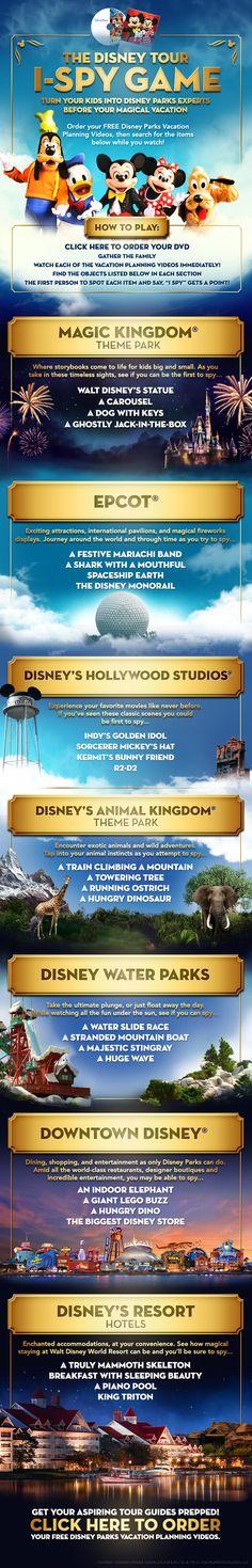 Turn your kids into Disney Parks experts before your vacation! #WaltDisneyWorld gretchen@destinationsinflorida.com