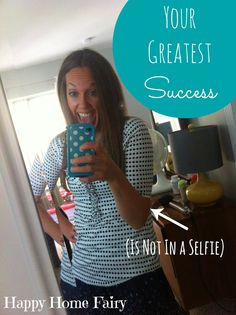 your greatest success (is not in a selfie) - has facebook/twitter/instagram/pinterest ever left you feeling like a failure? here is a great perspective on this... :-)