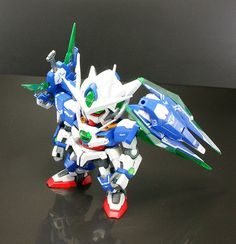 SD 00 Quanta Custom Build - Gundam Kits Collection News and Reviews