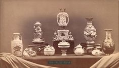 World's Fair of 1876 : Exhibition of the Japanese ceramics, 1876 World's Fair in Philadephia. Ancient Greek Words, Exhibition Building, American Independence, Architectural Antiques, Japanese Ceramics, World's Fair, French Artists, Photo Archive, Art Museum