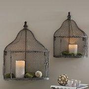 wall birdcage....cute