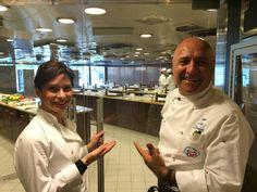 Bon Appetit Culinary Center - Oceania Cruises http://www.altiramisu.com/about-the-chef/ www.amyriolo.com #twochefsculinarycruise