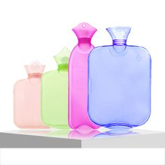 Hot Thicken Massage Health Care Hot Water Bottle Hot Water Bottle Explosion-proof Transparent Massage Hand Po Explosion-proof