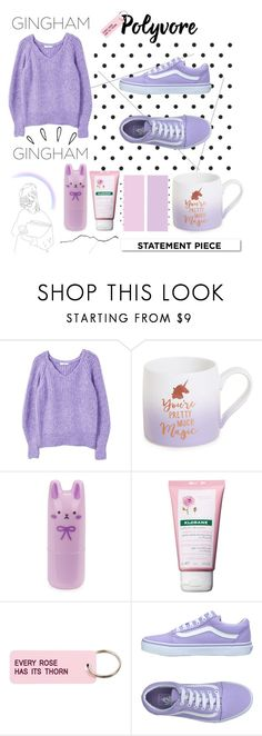 """""""♡♡♡ Purple ♡♡♡"""" by strawberry-milk-773 ❤ liked on Polyvore featuring White Label, MANGO, Slant, Tony Moly, Klorane, Various Projects, Vans, Old Navy and statementcoats"""