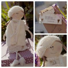 Poupee 5  handmade primitive rag doll by MesTrouvailles on Etsy, €40.00