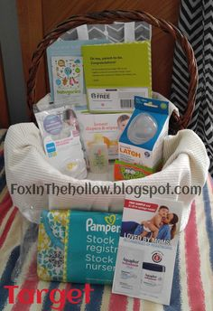 Fox In The Hollow: Target Baby Registry Gift Bag: So Many Goodies! Gift
